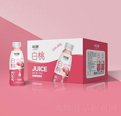 �口妙白桃果粒果汁�料500mlx15瓶