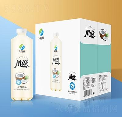 �口妙椰子牛奶乳味�料1.25Lx6瓶