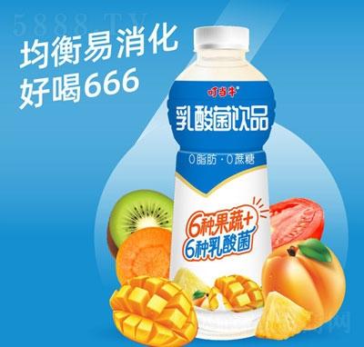 叮当牛乳酸菌饮品1L(瓶)