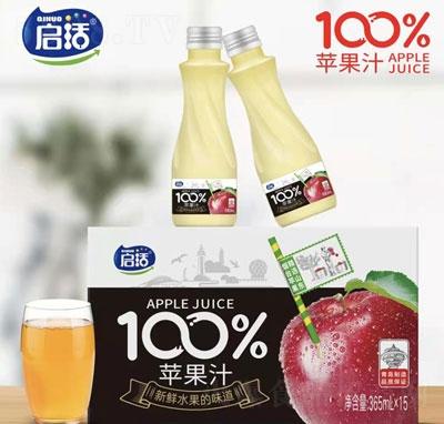 启活苹果汁365mlX15