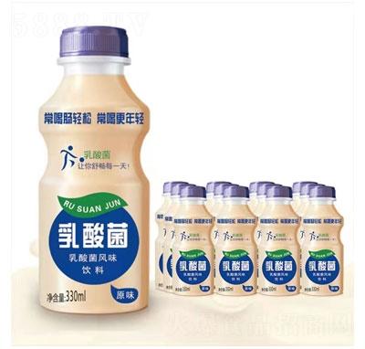 锐青乳酸菌风味饮料原味330ml