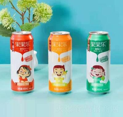 果果乐果汁果粒饮料490mlX15