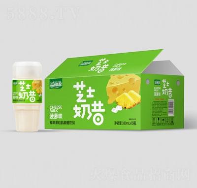 益和源芝士奶昔椰果果粒乳酸菌饮品菠萝味