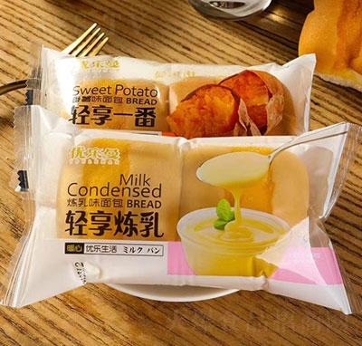 优乐曼炼乳味面包(袋)