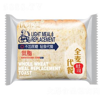 优乐曼全麦代餐吐司面包