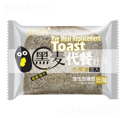优乐曼黑麦代餐吐司面包