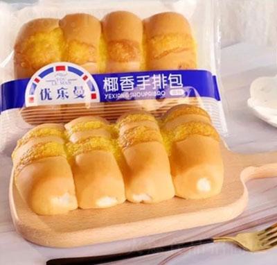 优乐曼椰香手排面包