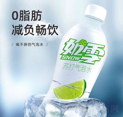 如雪苏打气泡水柠檬味480ml(瓶)