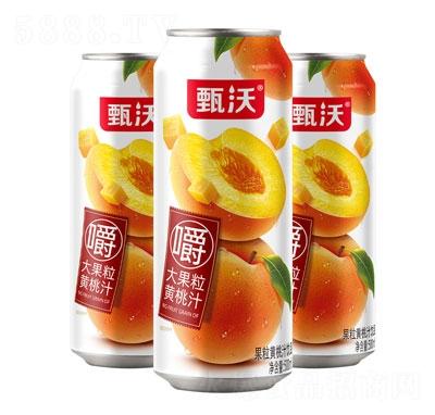 甄沃果粒黄桃汁饮品500ml