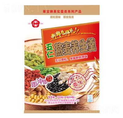 翠宝五仁燕麦养生羹320g产品图