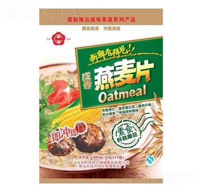 翠宝咸香燕麦片300g产品图