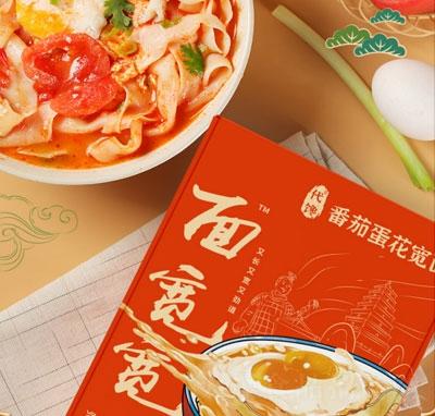 面����番茄蛋花��面(盒)