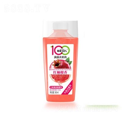 椰泰红柚留香复合果肉果汁饮料360ml