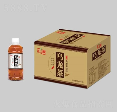 汇源乌龙茶饮料500mlX15