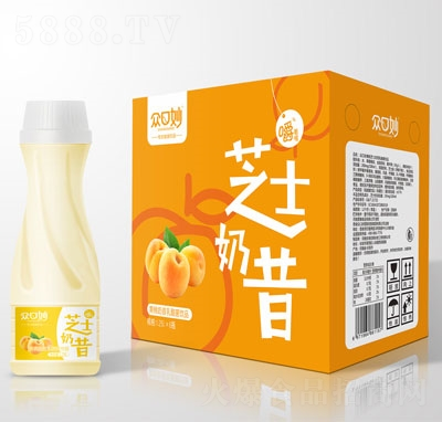�口妙�S桃奶昔乳酸菌�品1.25LX6瓶