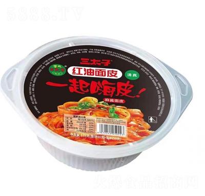 三太子红油面皮麻酱面皮139g(盒装)
