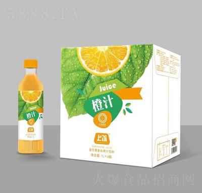 上首橙汁1L×6