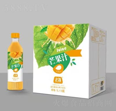 上首芒果汁1L×6