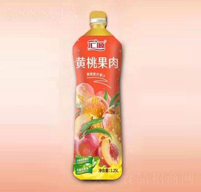 汇源黄桃果肉复合果汁1.25L