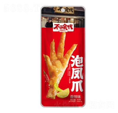 不二食代泡凤爪香辣味32g产品图