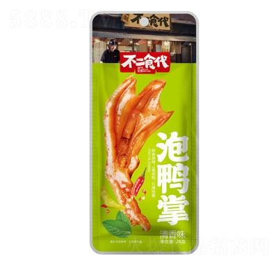 不二食代泡鸭掌清香味28g产品图