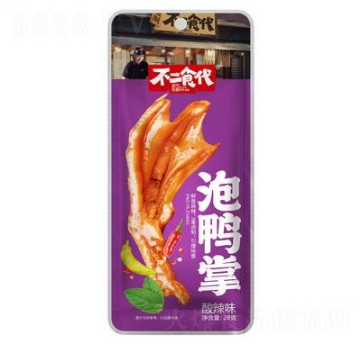 不二食代泡鸭掌酸辣味28g产品图
