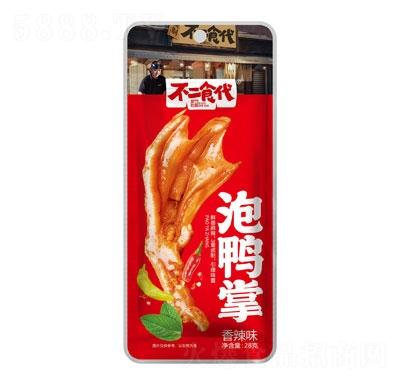 不二食代泡鸭掌香辣味28g产品图
