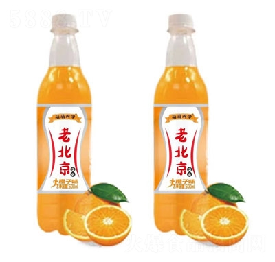萌萌同学老北京橙子味汽水