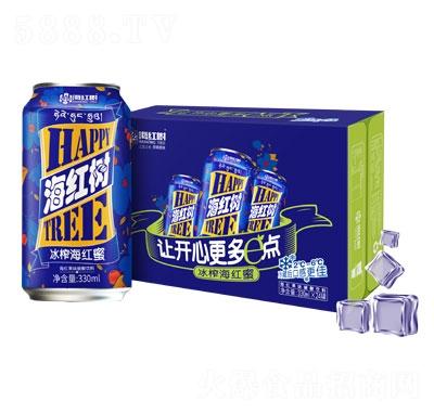 海红树冰榨海红蜜碳酸饮料330mlX24罐