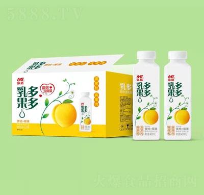 弥格乳果多多黄桃味奶味饮品400mlX15