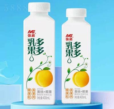 弥格乳果多多黄桃味奶味饮品400ml