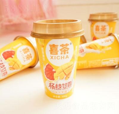 喜茶杨枝甘露风味水果罐头(杯)产品图