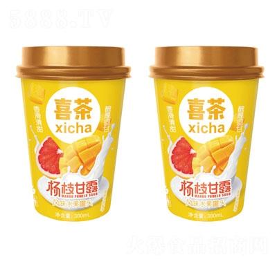 喜茶杨枝甘露风味水果罐头380ml产品图