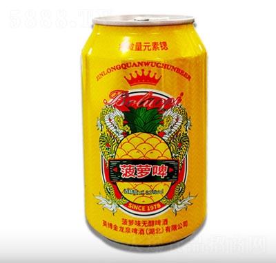 百威英博金龙泉菠萝啤330ml