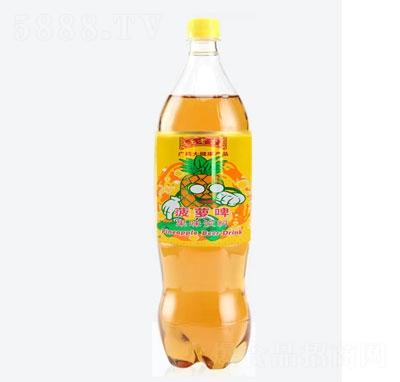 王老吉菠萝啤果味饮料(瓶)