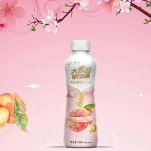 增健果粒桃果汁饮料500ml