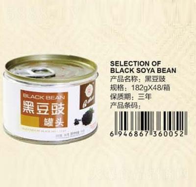 Q3黑豆豉182克产品图