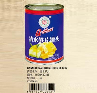 Q3清水�S片罐�^552克�a品�D