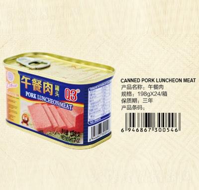 Q3午餐肉罐头198克产品图