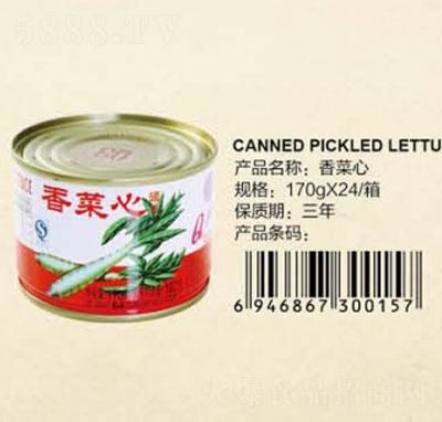 Q3香菜心罐�^170克�a品�D