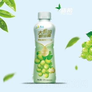 增健大果粒嚼着喝葡萄汁果汁饮料1.25L