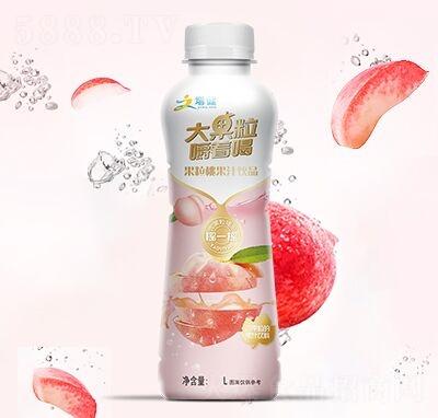 增健大果粒嚼着喝桃汁果汁饮料1.25L