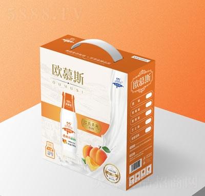 �W慕斯�S桃味老酸奶320g(箱)