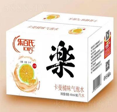 乐百氏卡曼橘味气泡水480mlX15瓶
