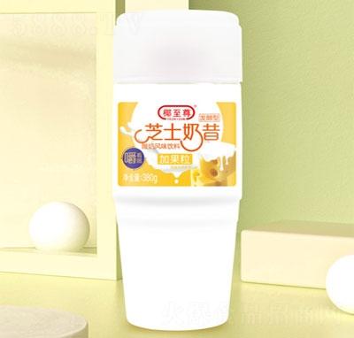 椰至尊芝士奶昔产品图