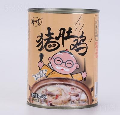 味爆猪肚鸡罐头产品图