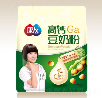 康友高钙豆奶粉1.018kg
