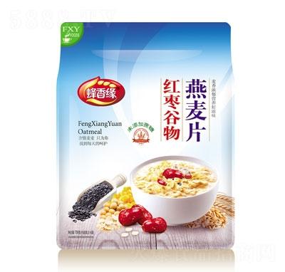 蜂香缘红枣谷物燕麦片708g