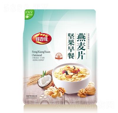 蜂香缘坚果早餐燕麦片708g