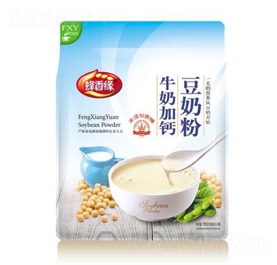 蜂香缘牛奶加钙豆奶粉708g
